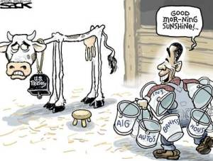 milking the debt